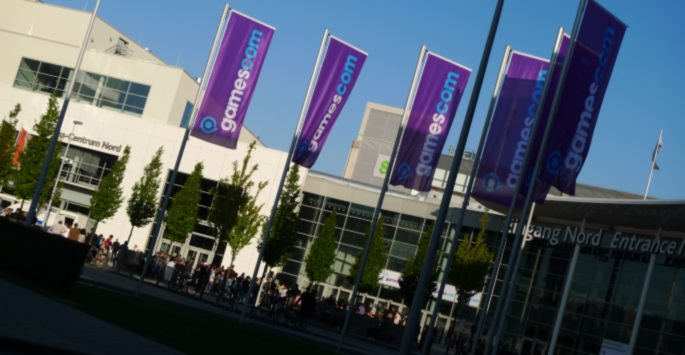 gamescom entrance
